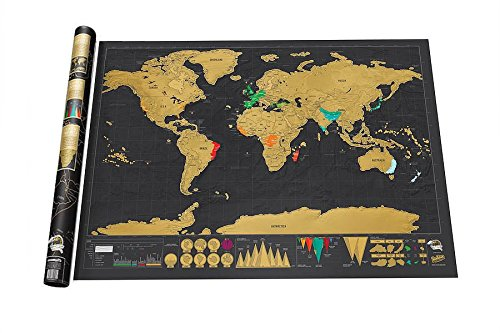 mapa scratch fabricante Genérico