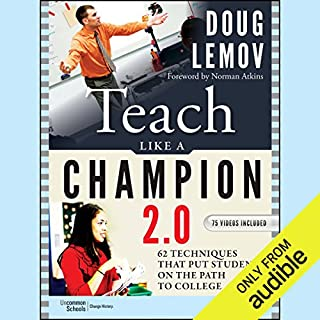 Teach Like a Champion 2.0 audiobook cover art