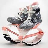 XHJL Zapatillas de Salto con Rebote Deporte Fitness Zapatillas de Salto con Rebote Entrenamiento Pérdida de Peso Correr Botas de Salto Diseño Antideslizante Ajustable, cómodo y Elegante (XL)