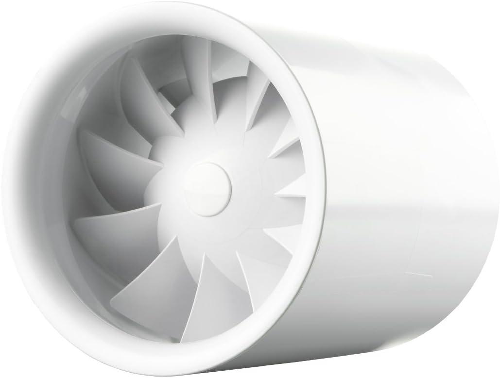 230.00V silencioso como el viento Ventilador de tubo Soundless Turbine Duo fuerte como una turbina 7.50W