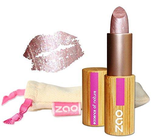 ZAO Pearly Lipstick 401 amethyst lila schimmernder Lippenstift mit Perlglanz, in nachfüllbarer...