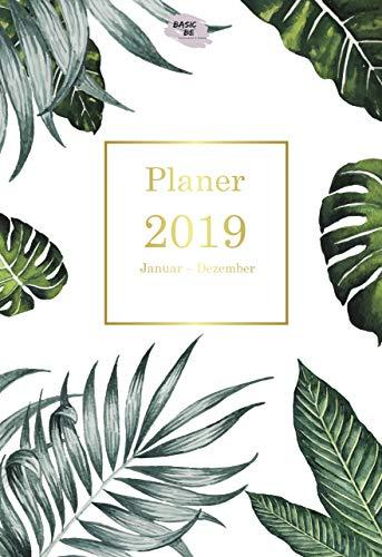 Planer 2019: Wochenplaner A5 - 365 Tage planen, notieren und erledigen für mehr Klarheit, Struktur & Produktivität | To-Do-Listen & Notizfelder für jede ... mit Platz fürs Schreiben (German Edition)