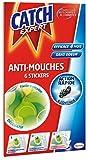 Catch Expert – Autocollants Anti–Mouches Décoratifs (6 stickers) – Vert