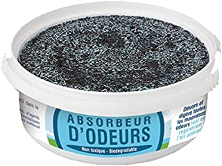 Désodorisant Absorbeur d'Odeurs - Efficacité 4 à 6 semaines - Boite de 225g