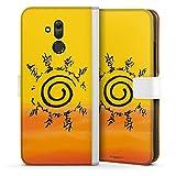 DeinDesign Étui Compatible avec Huawei Mate 20 Lite Étui Folio Étui magnétique Naruto Shippuden...