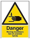 "Vsafety 65018bc-s""peligro maquinaria de movimiento"