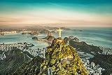 Rio de Janeiro Skyline Brasilien XXL Wandbild Kunstdruck