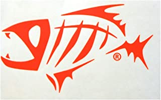 G.Loomis Skeleton Fish Logo Window Sticker