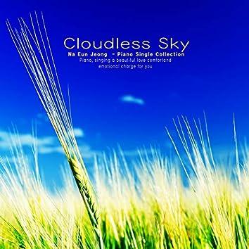 A cloudless sky