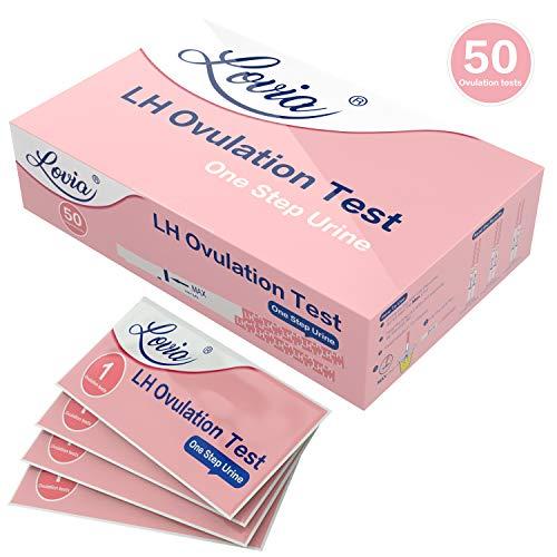 Test ovulazione, Lovia 50 x Test di ovulazione, Test ovulazion Ultrasensibili (25mIU/ml), 50 LH...