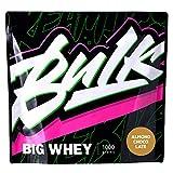 バルクスポーツ プロテイン ビッグホエイ 1kg(35食分)アーモンドチョコレート味 甘さ控えめ あっさり飲みやすいフレーバー