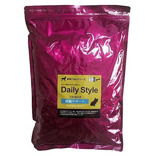 【獣医師開発】膵臓(すいぞう)サポート1kg 犬用療法食 無添加国産 鹿肉ドッグフード デイリースタイル(DailyStyle)(全犬種用)