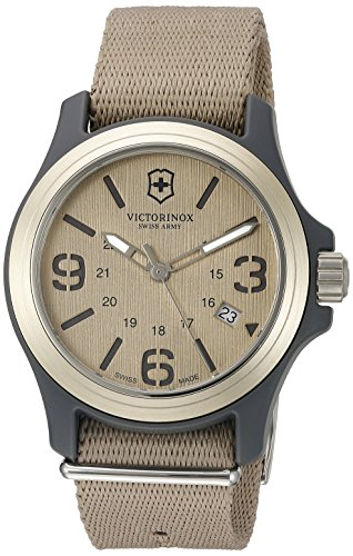 Victorinox Swiss Army Men's 241517 Original Black Dial and Strap Watch Watch