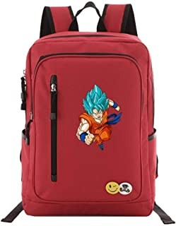 Asdfnfa Backpack, Dragon Ball Super Sun Wukong Student School Bag Computer Outdoor Leisure Travel Package (Color : 3)
