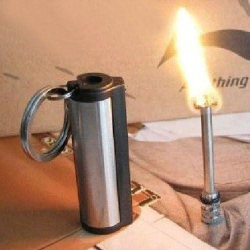 Fire Starter Multi Emergency Flint Match Lighter Camping Survival Keychain Tool
