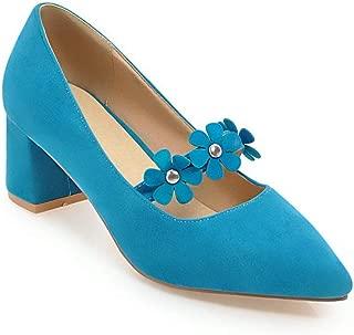 BalaMasa Womens APL12244 Pu Heeled Sandals