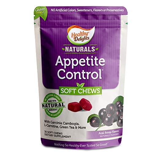 Healthy Delights Naturals Appetite Control Soft Chews Garcinia