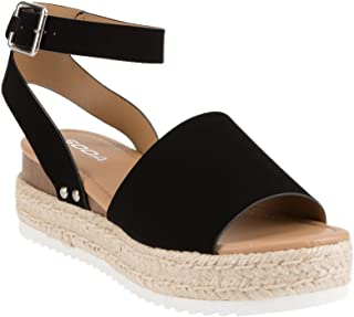 2aad936b909 Amazon.com: Soda - Platforms & Wedges / Sandals: Clothing, Shoes ...