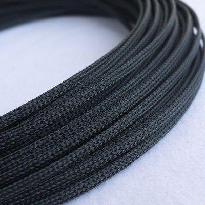 10m 4mm geflochten sleeven Pet Mesh erweiterbar Gartenschlauch Flexable Paracord Draht sleeving-black