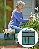 COCO Garden Kneeler Tool Bag - Seat Storage Tote Stool Pouch,...