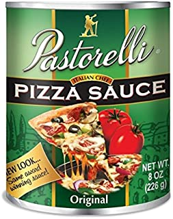 Pastorelli Pizza Sauce Italian Chef, Original, 8-Ounce (Pack of 12)