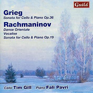 Grieg: Sonata for Cello & Piano - Rachmaninoff: Danse Orientale, Vocalise, Sonata for Cello & Piano
