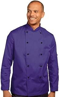 Chef's Jacket Stud Button, Technicolour Long Sleeve (DD56)