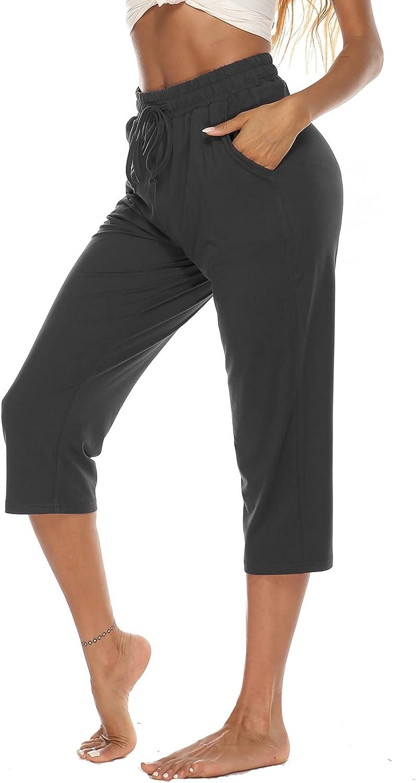 Popular brand ARRIVE GUIDE Womens Yoga Capri Pants Fashion Comfy C Casual Loose Summer