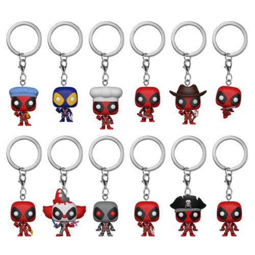Pocket POP! Keychain: Marvel: un Deadpool al azar