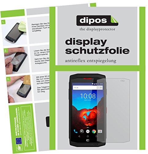 dipos I 6X Schutzfolie matt kompatibel mit Crosscall Trekker-X3 Folie Bildschirmschutzfolie