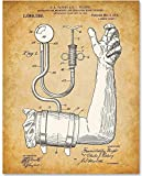 Blood Pressure Cuff - 11x14 Unframed Patent Print - Makes a Great Gift For Nurse's Day!