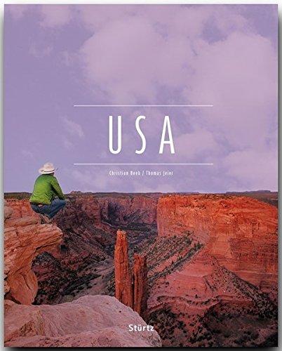 USA - Ein Premium***-Bildband in stabilem Schmuckschuber mit 224 Seiten und über 310 Abbildungen - STÜRTZ Verlag