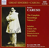 Enrico Caruso: The Complete Recordings, Vol. 3 (2006-08-01)
