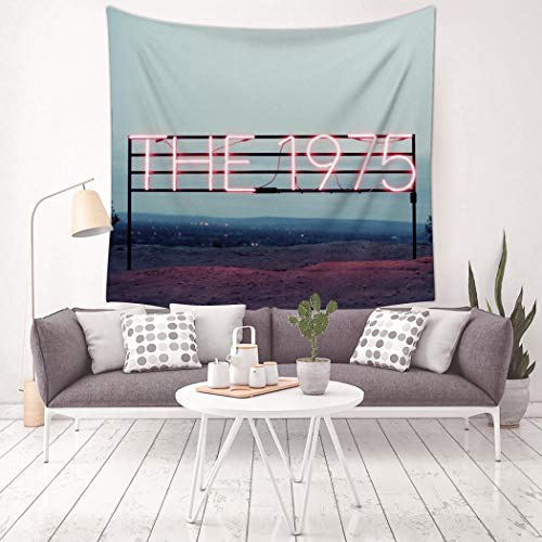 KLF&H_T2O Psychedelic Robbers_1975 Tapestry Wall Hanging Art Tapestries Trippy for Dorm Decor (59.1' x 59.1')