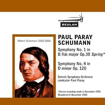 Schumann: Symphony No. 1 -  Symphony No. 4