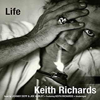 Life                   Written by:                                                                                                                                 Keith Richards,                                                                                        James Fox                               Narrated by:                                                                                                                                 Johnny Depp,                                                                                        Joe Hurley                      Length: 23 hrs and 5 mins     39 ratings     Overall 4.6