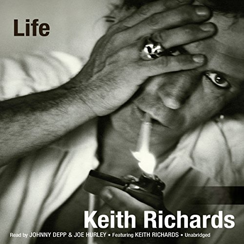 Life                   By:                                                                                                                                 Keith Richards,                                                                                        James Fox                               Narrated by:                                                                                                                                 Johnny Depp,                                                                                        Joe Hurley                      Length: 23 hrs and 5 mins     4,369 ratings     Overall 4.2