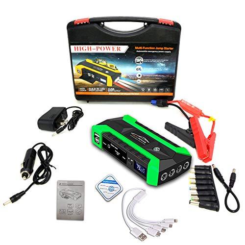 12V 600A LED Car Jump Starter, Portable Emergency Charger...