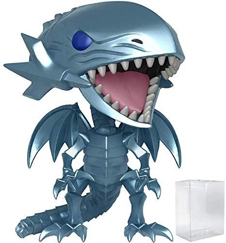 Funko Pop! Animation: Yu-Gi-Oh! - Blue Eyes White Dragon Vinyl Figure (Includes Pop Box Protector Case)