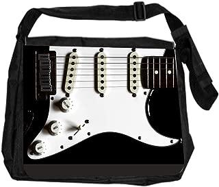Musical Guitar Clef Design Lea Elliot TM School Messenger Bag
