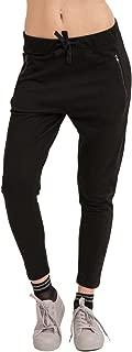 trueprodigy Casual Mujer Marca Pontalon Jogger Basico Ropa Retro Vintage Rock Vestir Moda Deportivo Chandal Slim fit Designer Cool Urban Fashion Sweat Pants Color Negro 6473502-2999