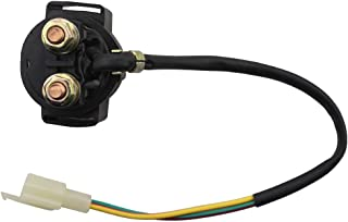 GOOFIT Solenoid Starter Relay for GY6 50cc 125cc 150cc Chinese ATV Dirt Bike Scooter