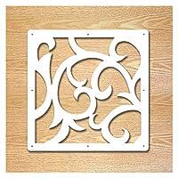 間仕切り ぶら下げスクリーンのリビングルームの仕切りパネル仕切りの壁のアートDIYの家の装飾白い木製のプラスチック壁のステッカー (Color : Q)