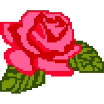 Flowers Pixel Art - Color by Number Book Pages