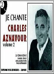 Partition : Je chante Aznavour volume 2