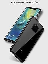 for Huawei Mate 20 Pro Ultra Thin Clear Anti-Scratch Hard Cover+TPU Silicone Bumper Hybrid Super Slim Fit Protective Case Black