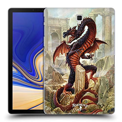 Official Alchemy Gothic Vindicta Pendragon Dragon Hard Back Case Compatible for Galaxy Tab S4 10.5 (2018)