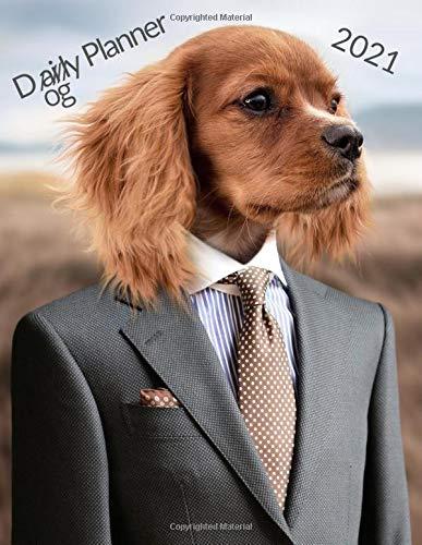 Dogly Planner: Tie Dog Daily Planner 365 days