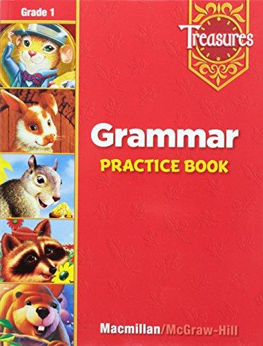 Treasures Grammar Practice Book, Grade 1