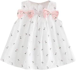 BHYDRY, Vestido de Fiesta de la Princesa de la Honda Floral del Arco sólido de la impresión del Arco del niño del niño del niño